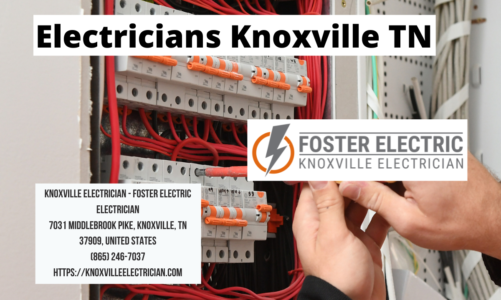 Electricians Knoxville TN | Knoxville Electrician – Foster Electric | (865) 246-7037