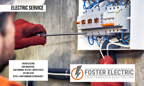 Electric Service | Foster Electric | 423-892-6759