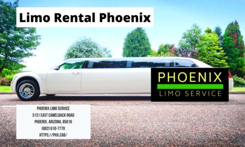 Limo Rental Phoenix | Phoenix Limo Service | (602) 610-7770